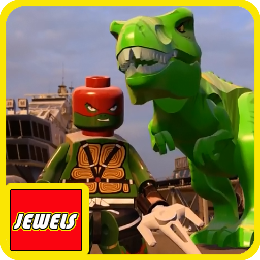 Jewels Of LEGO Ninja Turtle and Dinos