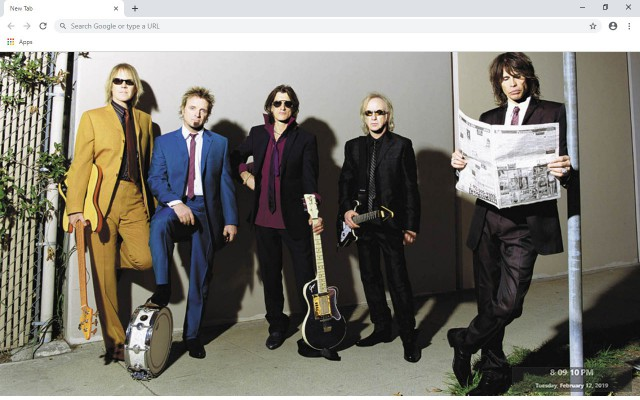 Aerosmith New Tab & Wallpapers Collection