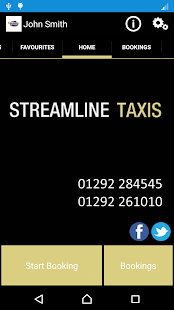 Streamline Taxis- screenshot thumbnail