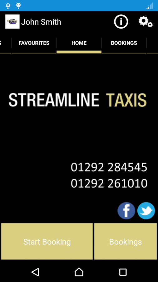 Streamline Taxis- screenshot