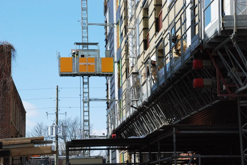 Scaffolding, scaffold, access, superior scaffold, transport platform, mast climber, Philadelphia, masonry, windows, pa, new jersey, nj, de, construction, rent, rental, rents
