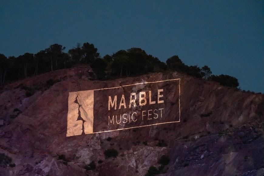 """""""Marble Music Fest"""", proyectado en la cantera de mármol"""