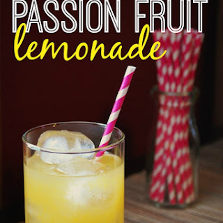 Passion Fruit Lemonade.