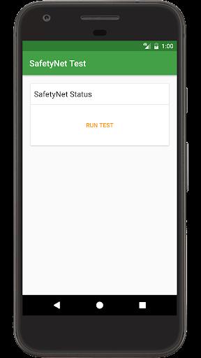 SafetyNet Test screenshot 2