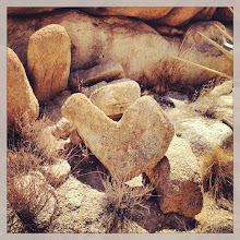 Photo: Heart rock found in Antelope Creek