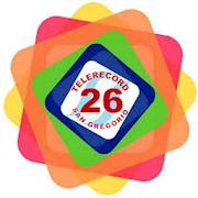 Telerecord 26 San Gregorio