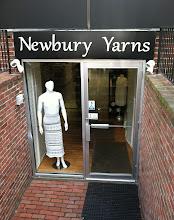 Photo: Newbury Yarns in Boston, MA proudly displaying their BBB Accreditation