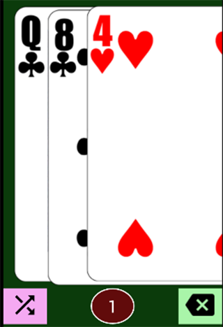 kaokay card game- screenshot