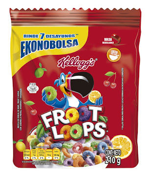 Cereal Froot Loops Bolsa   X210 G