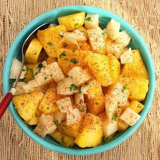 Pineapple and Jicama Salad.