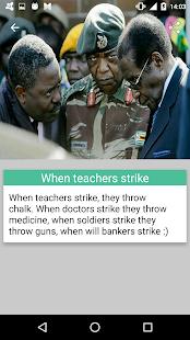 Robert Mugabe Funny Quotes - náhled