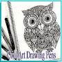 Cool Art Drawing Pens APK icon