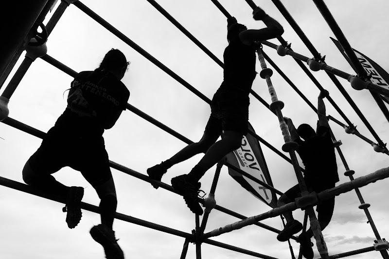 Climber's silhouette  di Fabio Fagorzi
