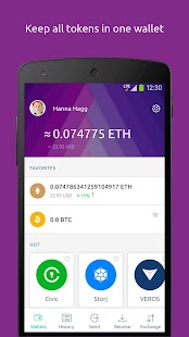 Freewallet: Ethereum Token Wallet & ICO- screenshot thumbnail