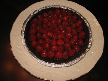 Raspberry Ganache Pie Recipe