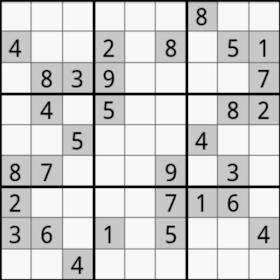 Sudoku  puzzles Advanced