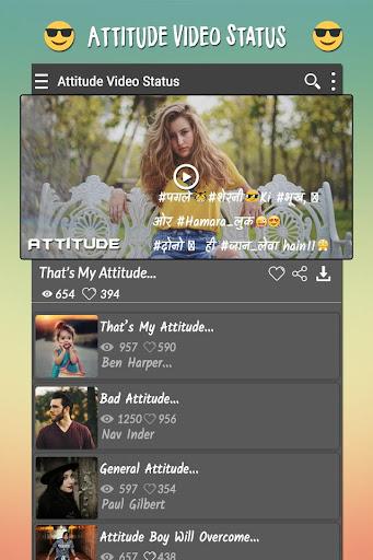 Attitude Video Status ss3