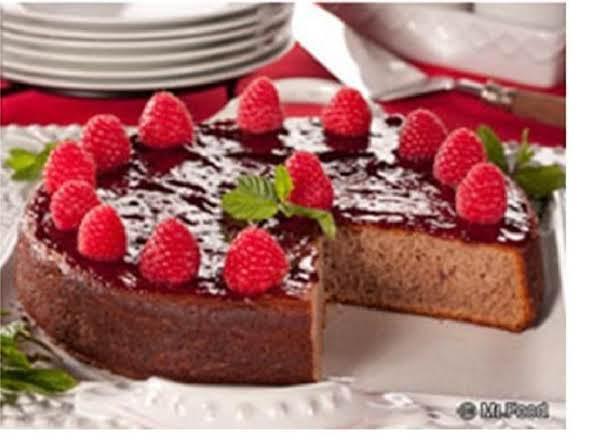 Raspberry Potato Cake