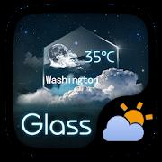 Glass GO Weather Widget Theme 1.0 Icon