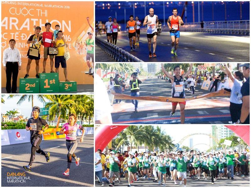 Ảnh: Cuộc thi marathon quốc tế Đà nẵng