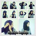 Hijab style facile Étape icon