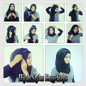 Hijab Style Easy Step