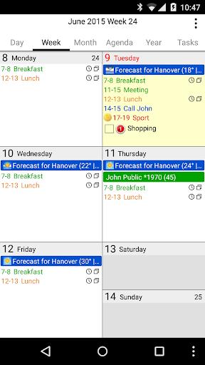 CalenGoo Calendar - Free Trial ss3
