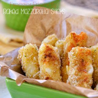 Baked Mozzarella Sticks