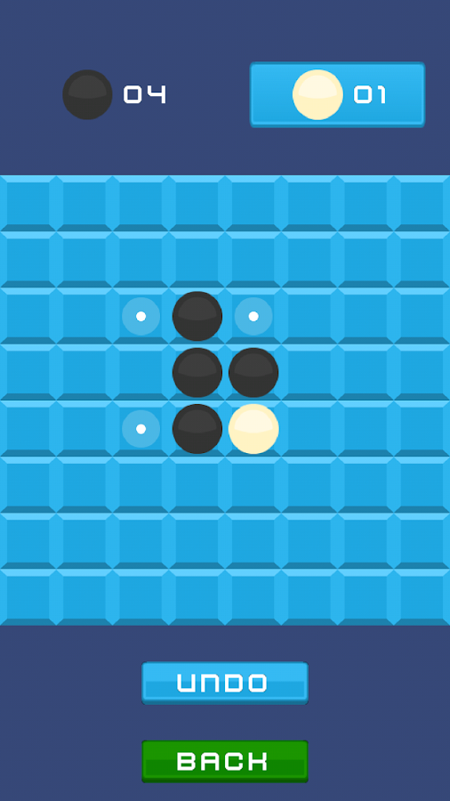 Retro Reversi- screenshot
