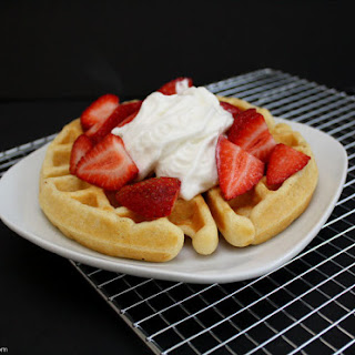 The Best Quick Buttermilk Waffle.