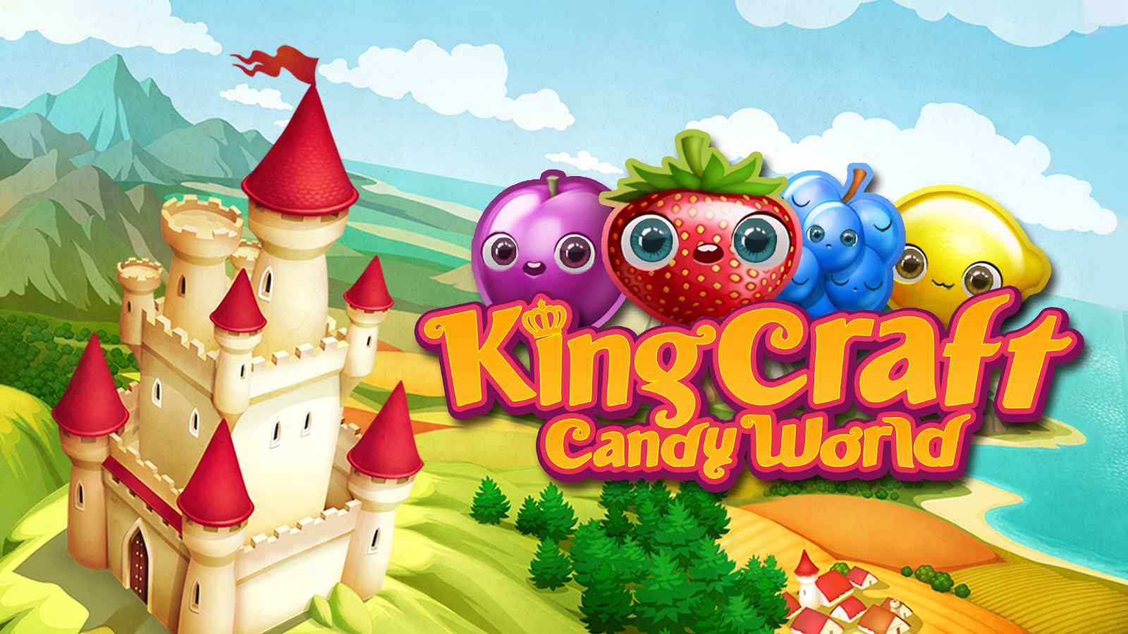 KingCraft - Candy Garden- screenshot