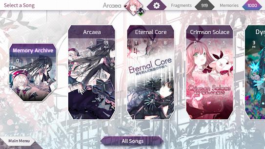 Arcaea – New Dimension Rhythm Game 4