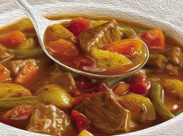 Ladle the soup into bowls and serve.