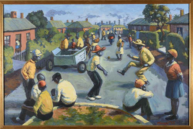 An early work by George Pemba