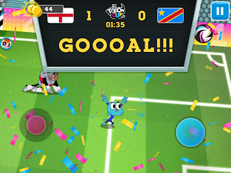 Toon Cup 2018 - Cartoon Network's Football Game APK screenshot thumbnail 4