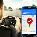 Voice Navigation, Live Driving Maps icon