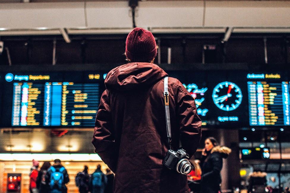lotnisko, odwołany lot