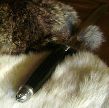Photo: Handle Detail of Elfin Dagger.