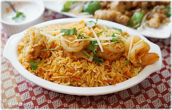 台中公益路美食║斯里頂級印度餐廳藏匿美食戰區內, 高達百道正統印度料理、香味四溢任你挑(葷素皆有)
