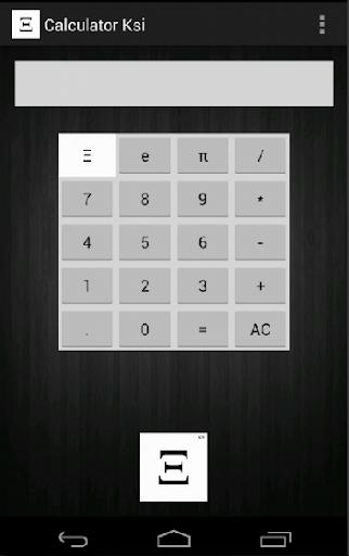 Calculator Ksi