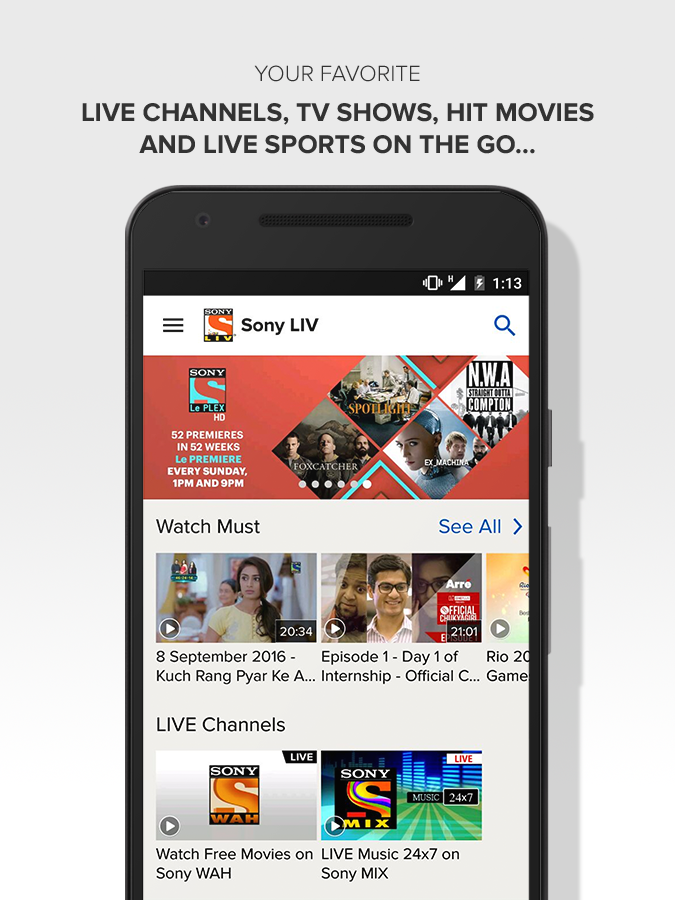 Sport live app