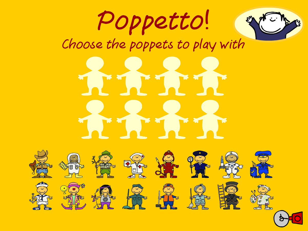 Poppetto Professions- screenshot
