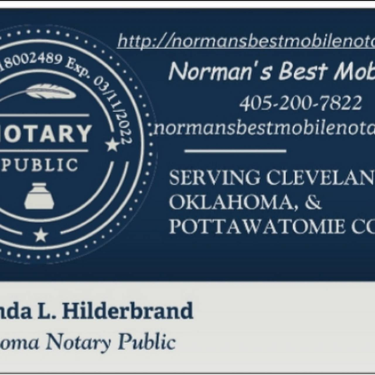Norman S Best 24 Hour Mobile Notary Service Amanda