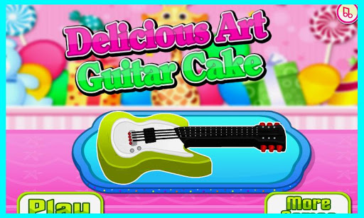Delicious Art Guitar Cake Apk Download 1