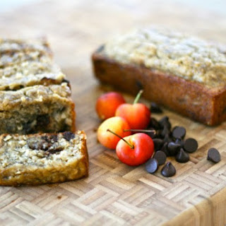 Cherry Chocolate Oatmeal Banana Bread