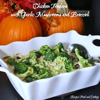 Chicken Tenders Mushrooms Recipes.