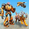 Flying Tiger Robot: Flying Bike Transformation