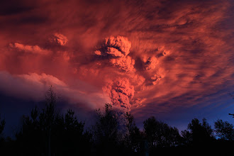 "Photo: Apocalyptic Plume Photograph by Ivan Alvarado, Reuters A Lord of the Rings-worthy plume rises roughly six miles (ten kilometers) above Chile's Puyehue volcano (map) Sunday. As of Monday, activity at the volcano appeared to have tapered off, according to Telam, Argentina's government news agency. Even so, danger remains. In a statement on website of the regional government of Los Rios, Chile, for example, Governor Juan Andrés Varas warned that ash and potentially poisonous volcanic gases are slowly rolling toward a nearby valley. ""Fortunately, the valley doesn't drop abruptly, so we have time to evacuate,"" Varas was quoted as saying by CNN.  #cloud #storm #supercell #nature #thunderstorm #hailstone #lightning #photo #photography  #photo #photography #News #WeatherNews #Bolt #ChesterCounty #ExtremeWeather #farm #Funnel #JeffBerkes #lightpollution #Lightning #Pennsylvania #rain #severe #Shaft #Storms #Thunderstorm  #funnel #lightningphotography   #stormphotography #weatherphotos   #stormphotography"