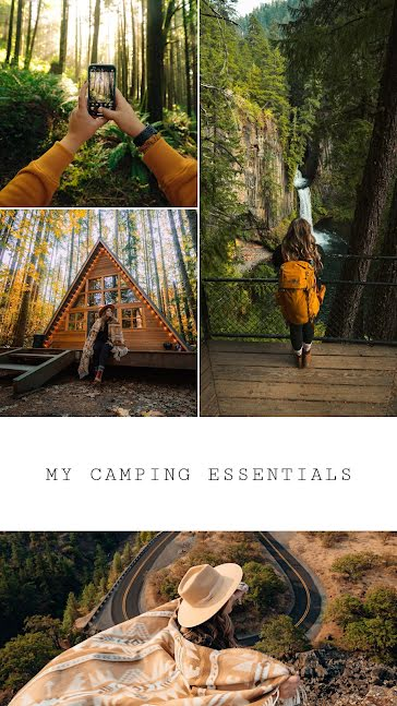My Camping Essentials - Facebook Story Template