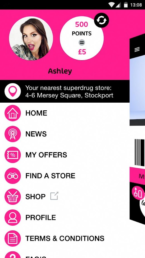 Superdrug- screenshot